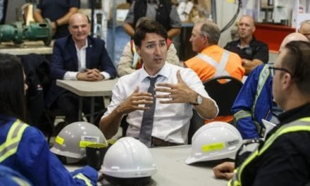 Trudeau visits Alberta pipeline site, says national unity is not under threat | CBC News