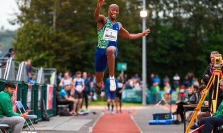 Manyonga jumps into record books as English forced to quit – Independent.ie