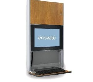 Enovate Wall Computing Station | StandardizeThis