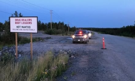 First Nation constable says he stopped B.C. fugitives who drove through unrelated checkstop | CBC News