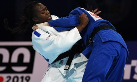 France's Agbegnenou takes her fourth world judo title in psychological win over Tashiro