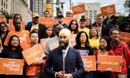 Federal NDP want voters to hear they're 'In it for You' on the campaign trail