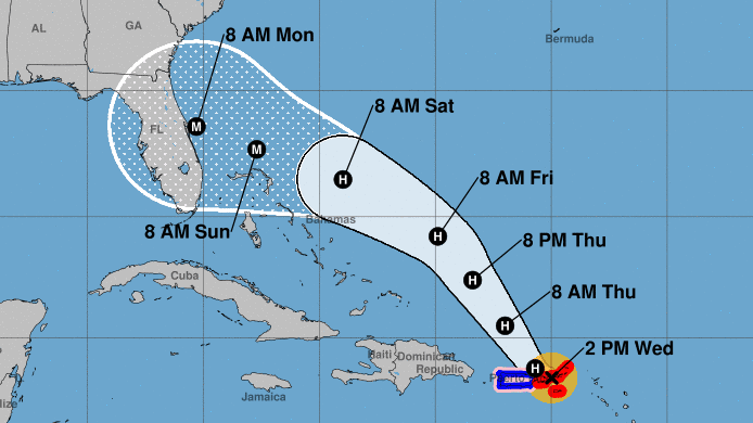 Cyclone Dorian Will Struck Florida As A Significant Storm, Forecasters State
