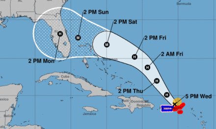 Florida Governor Declares State Of Emergency As Typhoon Dorian Moves North