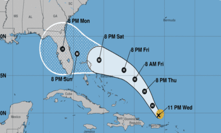 Florida Governor Declares State Of Emergency As Hurricane Dorian Gains Force