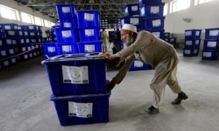 Afghans determined to vote for a president despite Taliban threats and suicide bombings | CBC News