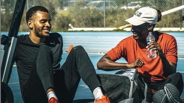 Nia Ali's partner is a fellow professional athlete – get to understand Andre De Grasse!
