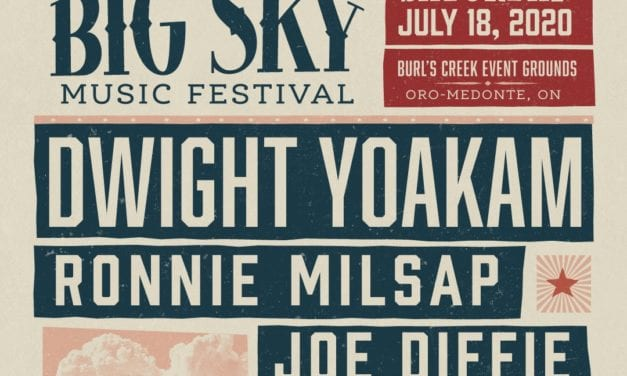 Big Sky Music Festival Announces 2020 Artist Headliner