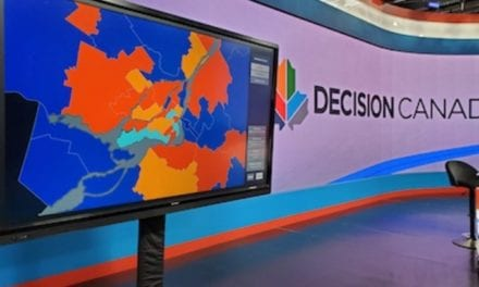 Bannister Lake Delivers Cross-Platform and Ingenious Graphic Solutions for Canadian Federal Election Coverage