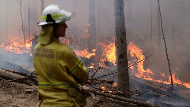 'A little bit of insane': Manitoba firemen helping to battle out-of-control wildfires in Australia|CBC News