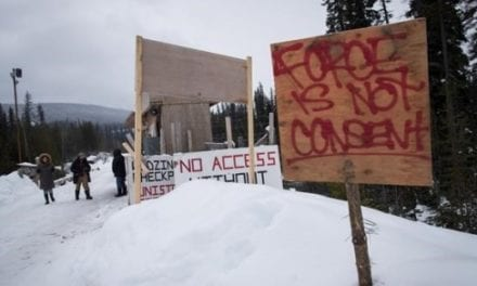 Hereditary chiefs say they will protect territory in pipeline dispute