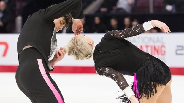 Gilles, Poirier rebound from uncommon closet malfunction to win brief dance|CBC Sports