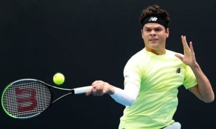 Raonic finishes off final game of rain-delayed victory in 1st round of Australian Open | CBC Sports