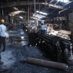 Workers Burn in Denim Factory with One Exit | IMPO