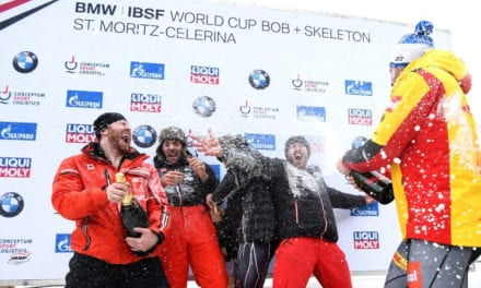 Friedrich wins four-man bobsleigh World Cup title in remarkable style