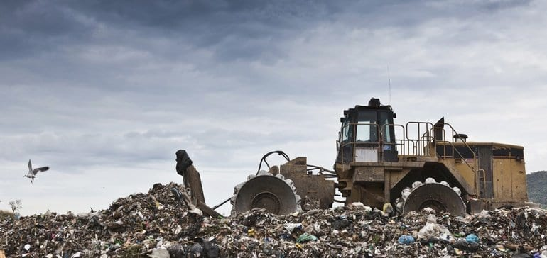Landfill operators say cap-and-trade could cost $138M in first year alone if emissions standards not changed | Waste Dive