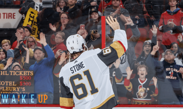 Get up Vegas! Play of the Day: Stone Returns To Ottawa|NHL.com