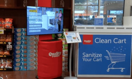 Island grocery store installs machine that uses UV light to clean carts, first in Canada says company