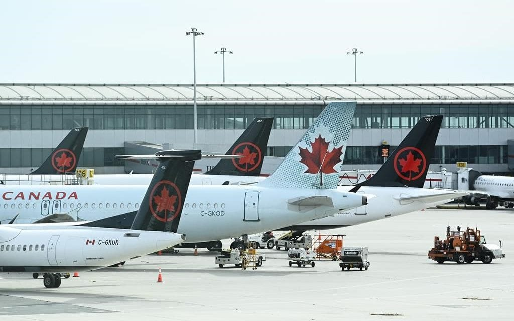 Air Canada appears to be sending influencers on trips, despite the pandemic