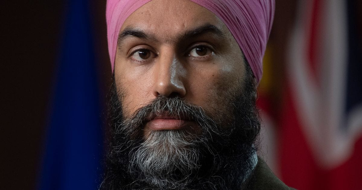 Singh Wants Military Help In Canada's COVID-19 Vaccination Campaign
