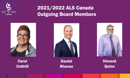 ALS Canada thanks outgoing Board members for their commitment to a future without ALS