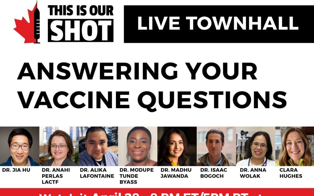 Doctors team up to reduce COVID-19 vaccine hesitancy in Canada – NEWS 1130