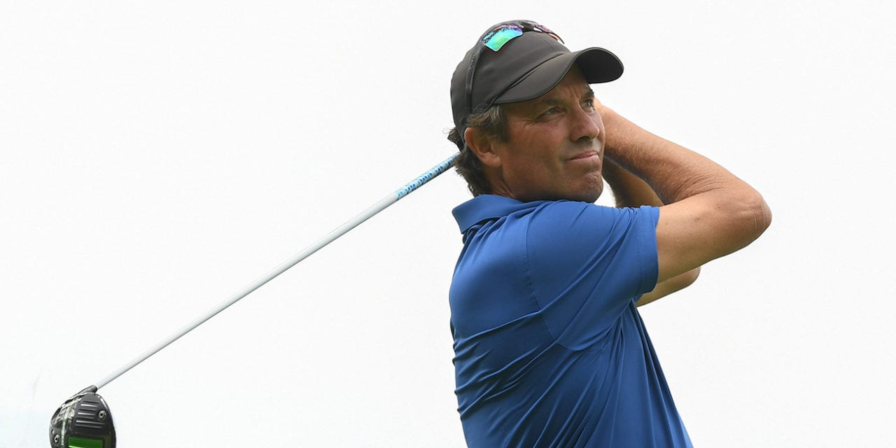 Canada's Stephen Ames shoot 65 for share of 1st round lead at US Senior Open; Weir T16 – Golf Canada