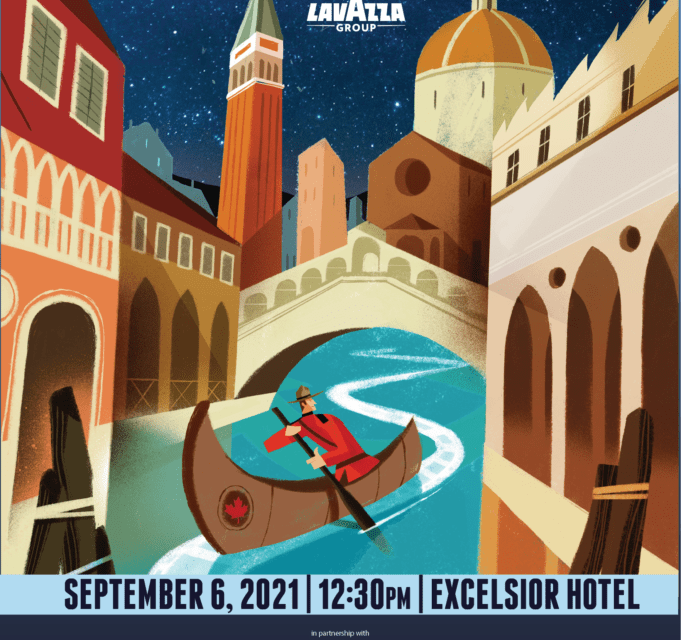Canada and Italy meet in the Lagoon. ICFF flies to Venice to celebrates its incredible 10 years – ICFF – Lavazza Drive-in