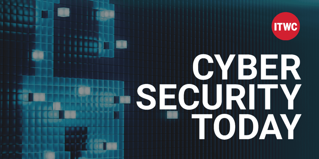 Cyber Security Today, Week in Review for Sept. 24, 2021 | IT World Canada News